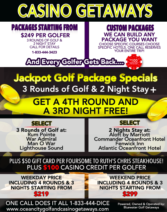 golf packages and specials